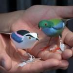 th_th_・里山の野鳥こけし 1000円+税